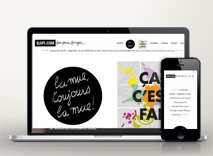 creation site web artiste