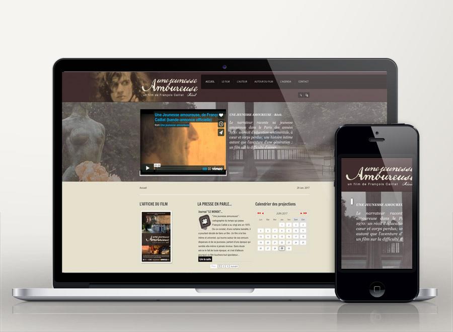 creation site web film documentaire