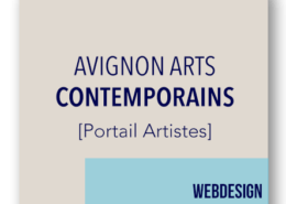 creation site internet portail artistes Avignon