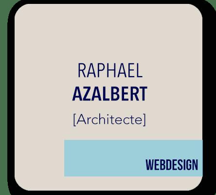 webdesign site Raphael Azalbert