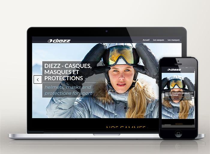 site boutique en ligne DIEZZ SPORT