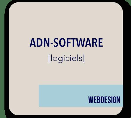 creation site internet logiciels ADN software