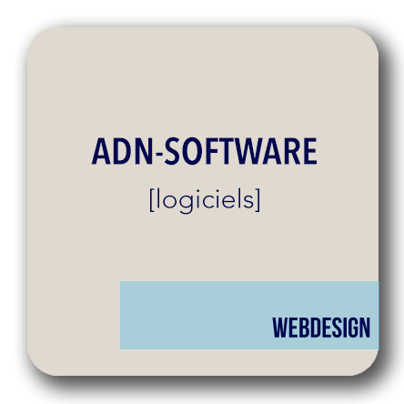 creation site internet logiciels ADN software