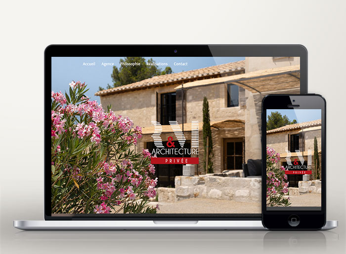 site internet agence architectes Avignon