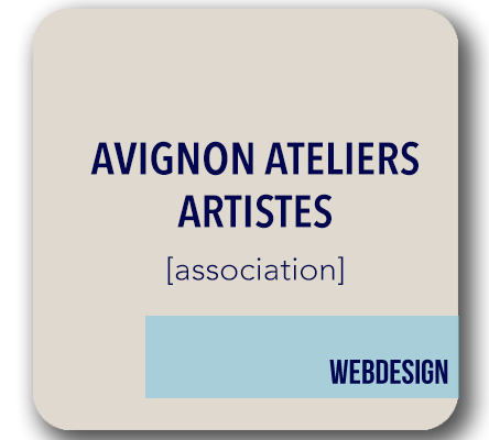 creation site avignon ateliers artistes